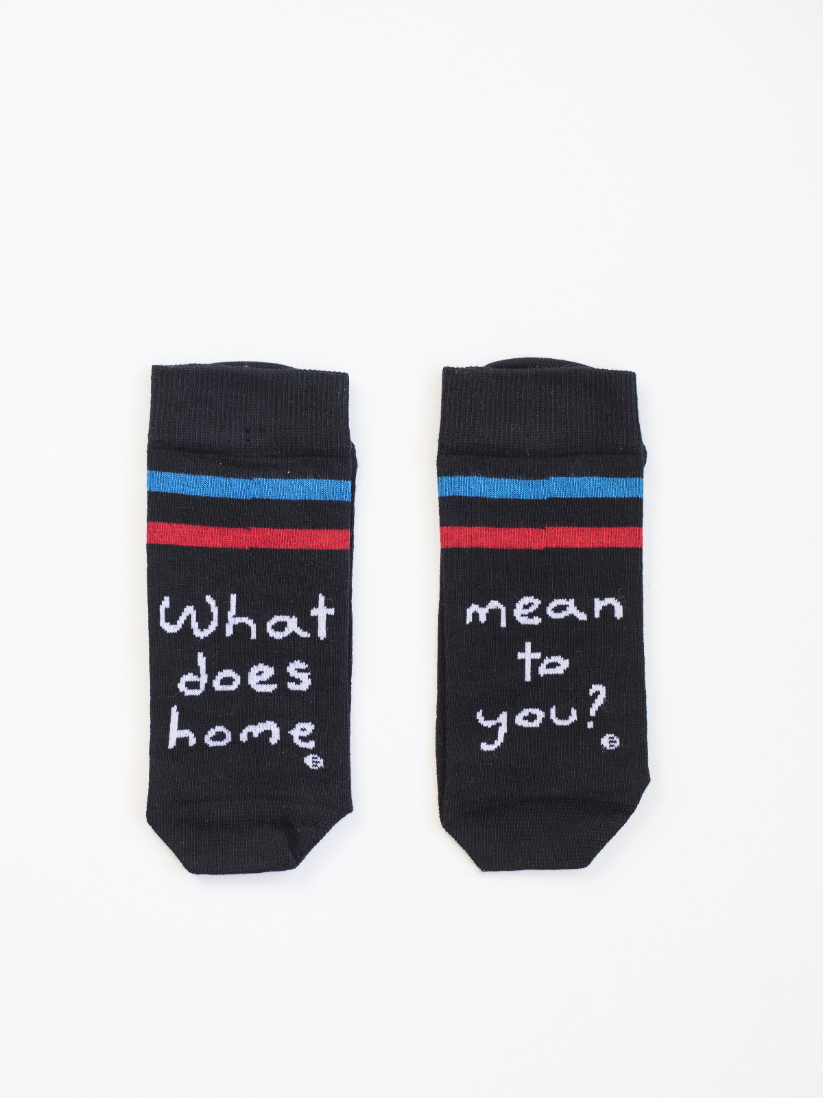 2ae56b79d About home Socks – BLACK – Ode to Socks